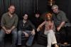 Dale Grisa, Kris Kurzawa, GW, Barbara Payton, Ron Pangborn at The Black Crystal Cafe Photo by Deanna Carpenter