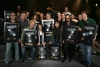 Presentation of the platinum albums for Face The Promise by Bob Seger