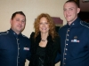 Barbara Payton W/ Air Force Band Members @ Presidential Inaugural Youth Ball