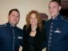 Barbara Payton W/ Air Force Band Members @ Presidential Inaugural Youth Ball