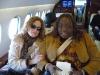 Barbara Payton and Thornetta Davis W/Kid Rock headed to the Presidential  Inaugural Youth Ball