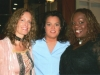 Barbara Payton and Thornetta Davis with Rosie O\'Donnell on The View