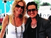 Barbara Payton with Lucas Silveira of The Cliks at Ferndale Pride - June 1, 2013